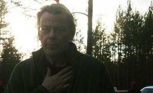 Bengt Fröderberg spelade Rolf Lassgård i en av dagens scener